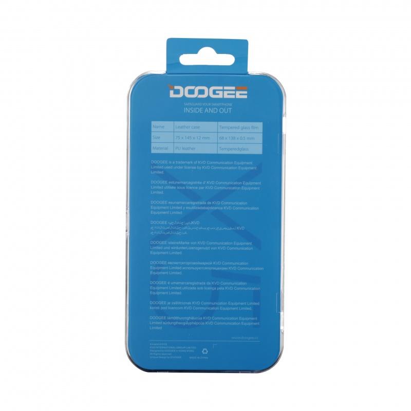 DOOGEE X5 flipové pouzdro, bílé