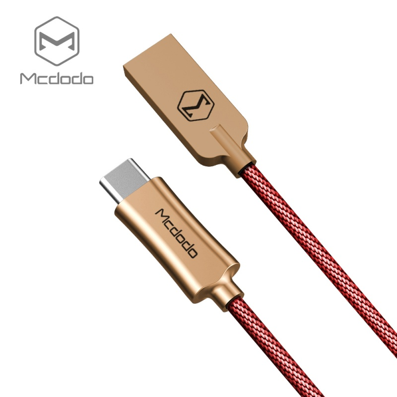 Mcdodo datový kabel typ-C (1 m) červené