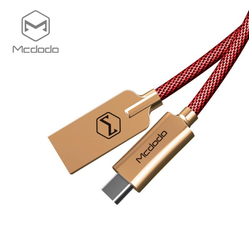 Mcdodo datový kabel typ-C (1,5 m) červené