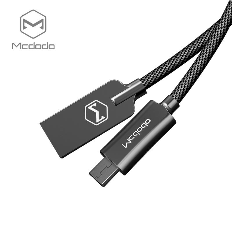 Mcdodo datový kabel Micro USB (1 m) černé