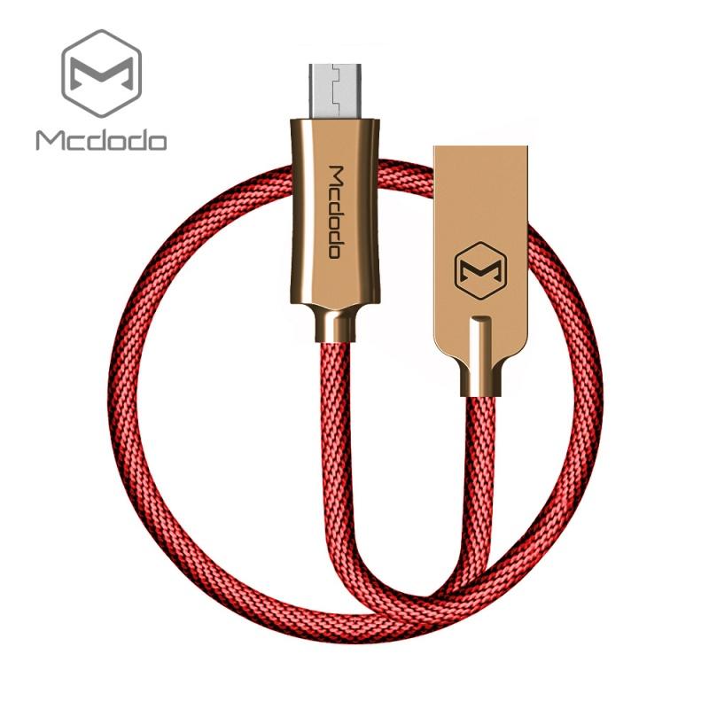 Mcdodo datový kabel Micro USB (1 m) červené