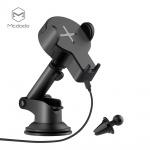Mcdodo Single Coil Wireless Car Charger Holder Black