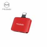 Mcdodo Lightning To Dual Lightning Adapter 5V 1A (29x20x7,6 mm) Red