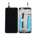 Xiaomi Redmi 4X LCD + Touch + Frame (Assembled) - Black (OEM)