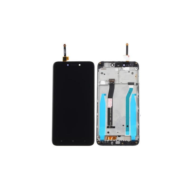 Xiaomi Redmi 4X LCD + dotyk + rám, černé (OEM)