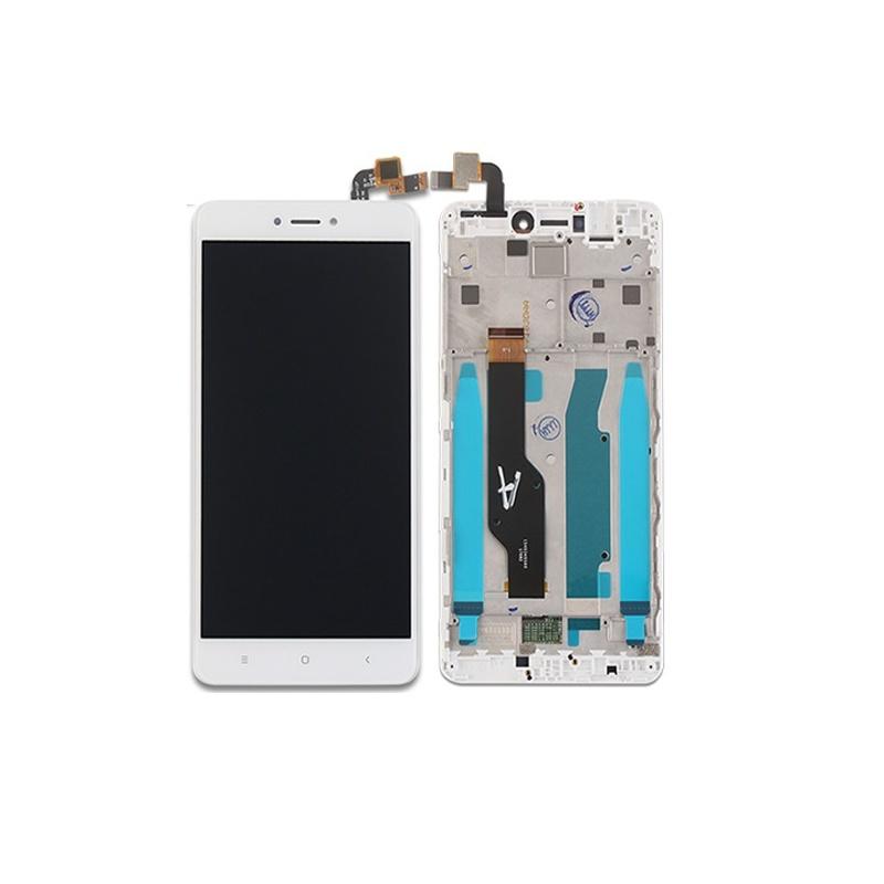 Xiaomi Redmi Note 4/4X LCD + dotyk + rám, bílé (Qualcomm) (OEM)