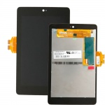 LCD + Touch + Frame (Assembled) pro Asus Nexus 7 1. Generace Black (OEM)