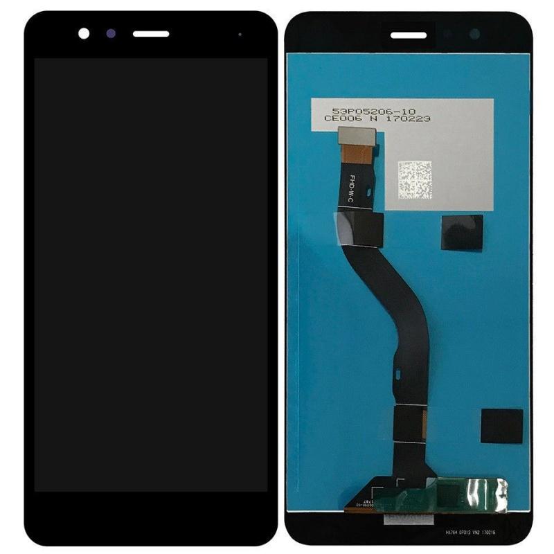 LCD + dotyk + rám  (spojený) pro Huawei Nova, černý