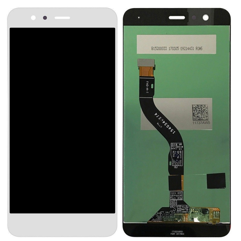 LCD + dotyk + rám  (spojený) pro Huawei Nova, bílý