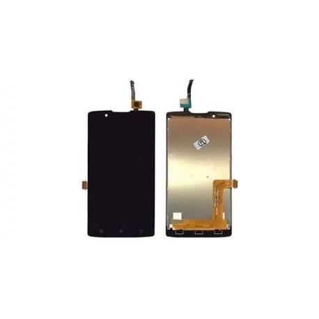 LCD + Touch + Frame (Assembled) pro Lenovo A2010 Black (OEM)
