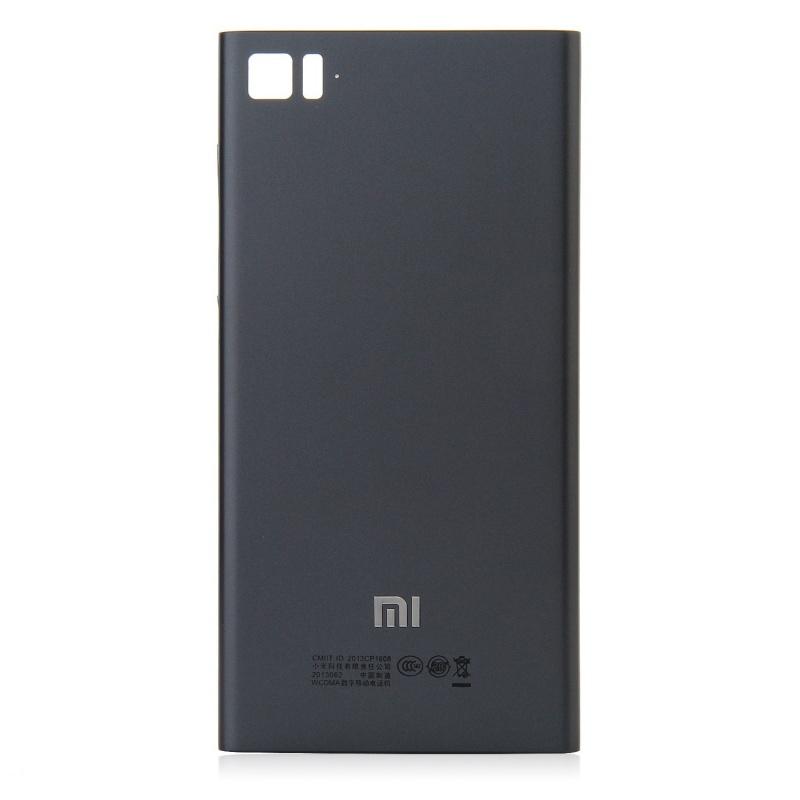 Xiaomi Mi3 Back Cover Black