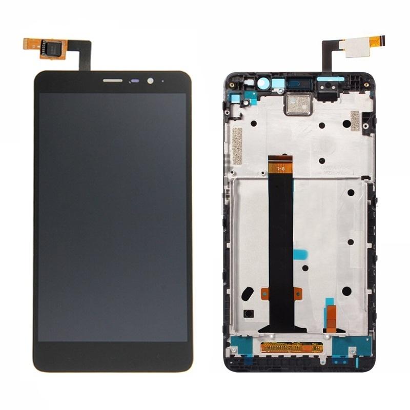 Xiaomi Redmi Note 3 Pro LCD displej + dotyk + rám Black