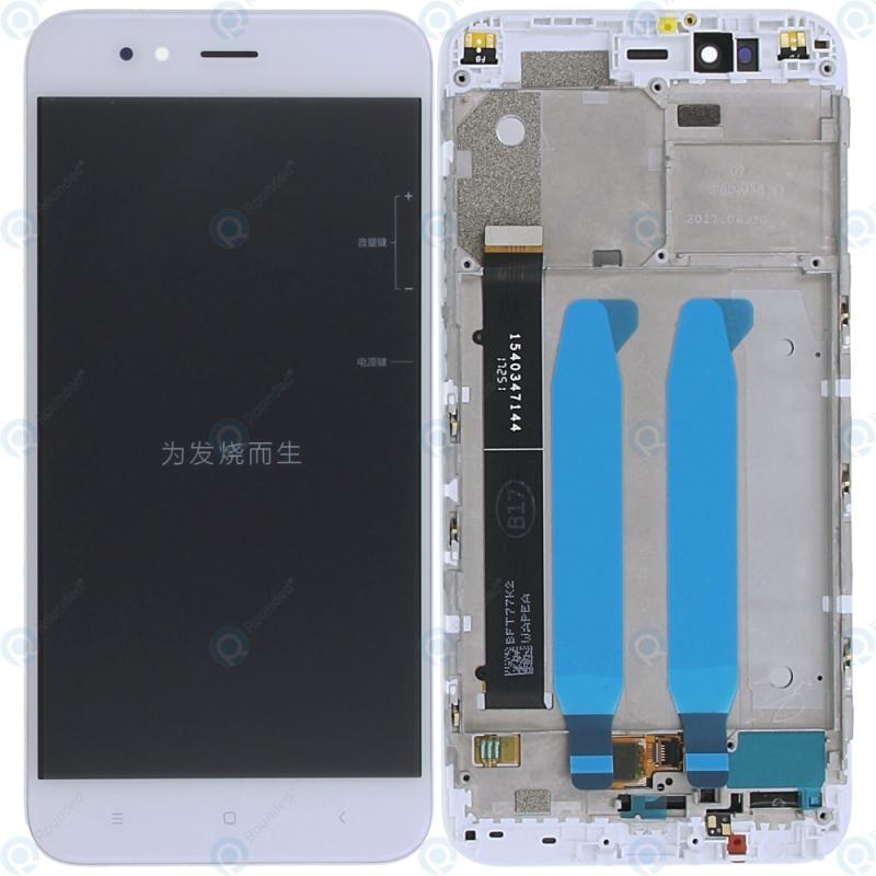 Xiaomi Mi A1 přední Cover Display Module bílé