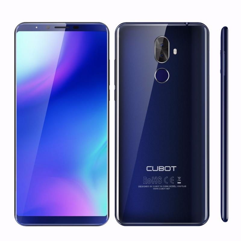 Cubot X18 Plus modrá FDD-LTE, WCDMA 64GB 4GB RAM