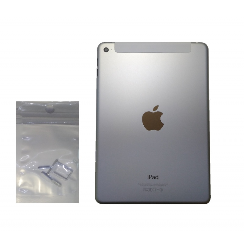 Back Cover 3G Silver pro Apple iPad Mini 4