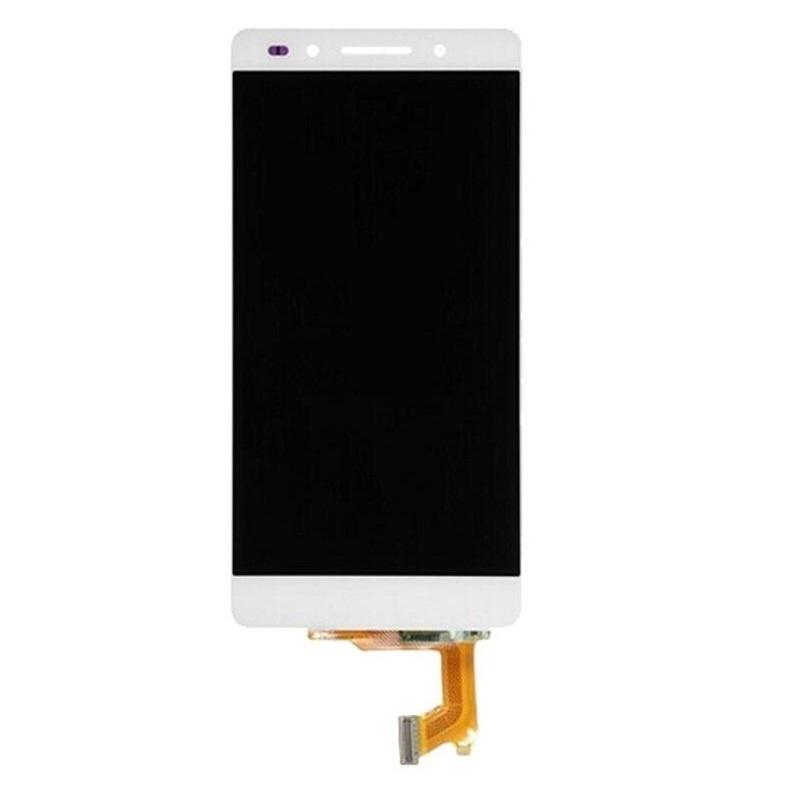 Huawei Honor 7 LCD + dotyk + rám (monoblok), bílý