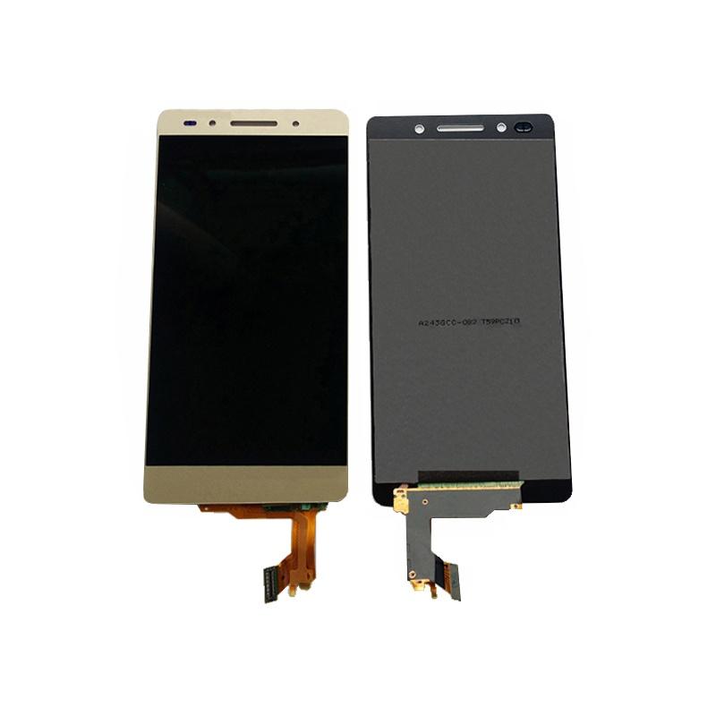 Huawei Honor 7 LCD + dotyk + rám (monoblok), zlatý