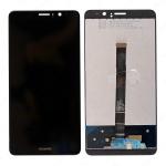 LCD + Touch + Frame (Assembled) pro Huawei Mate 9 Black (OEM)