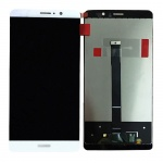 LCD + Touch + Frame (Assembled) pro Huawei Mate 9 White (OEM)