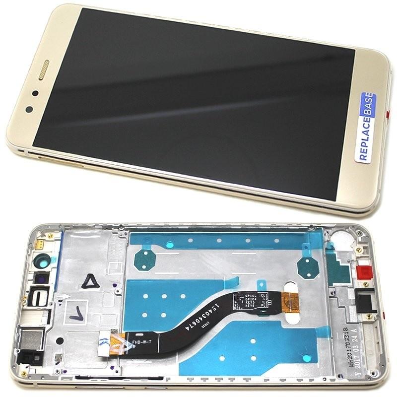Huawei P10 Lite LCD + dotyk + rám (monoblok), zlatý