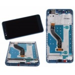 LCD + Touch + Frame (Assembled) pro Huawei P10 Lite - Blue (OEM)