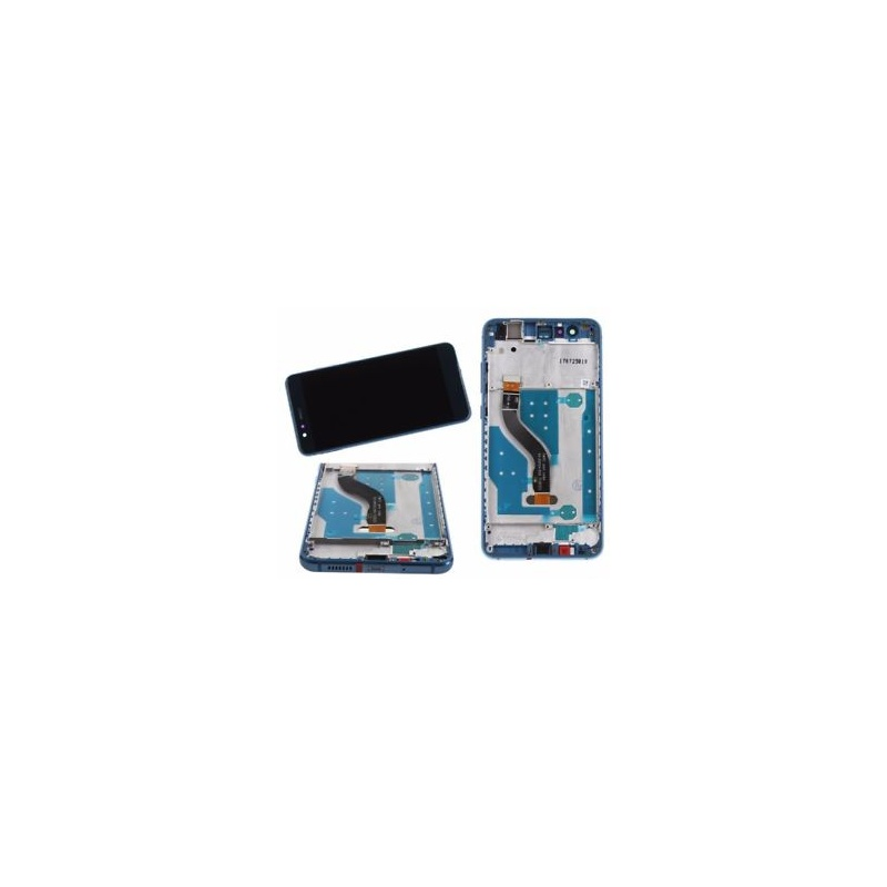 Huawei P10 Lite LCD + dotyk + rám (monoblok), modrý
