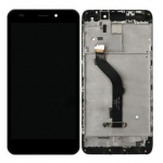 LCD + Touch + Frame (Assembled) pro Huawei Honor 7 Lite - Black (OEM)