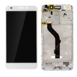 LCD + Touch + Frame (Assembled) pro Huawei Honor 7 Lite - White (OEM)