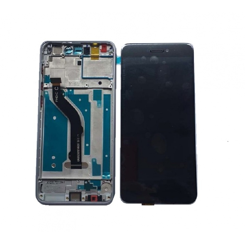 Huawei P8 Lite LCD + dotyk + rám (monoblok), černý 2017