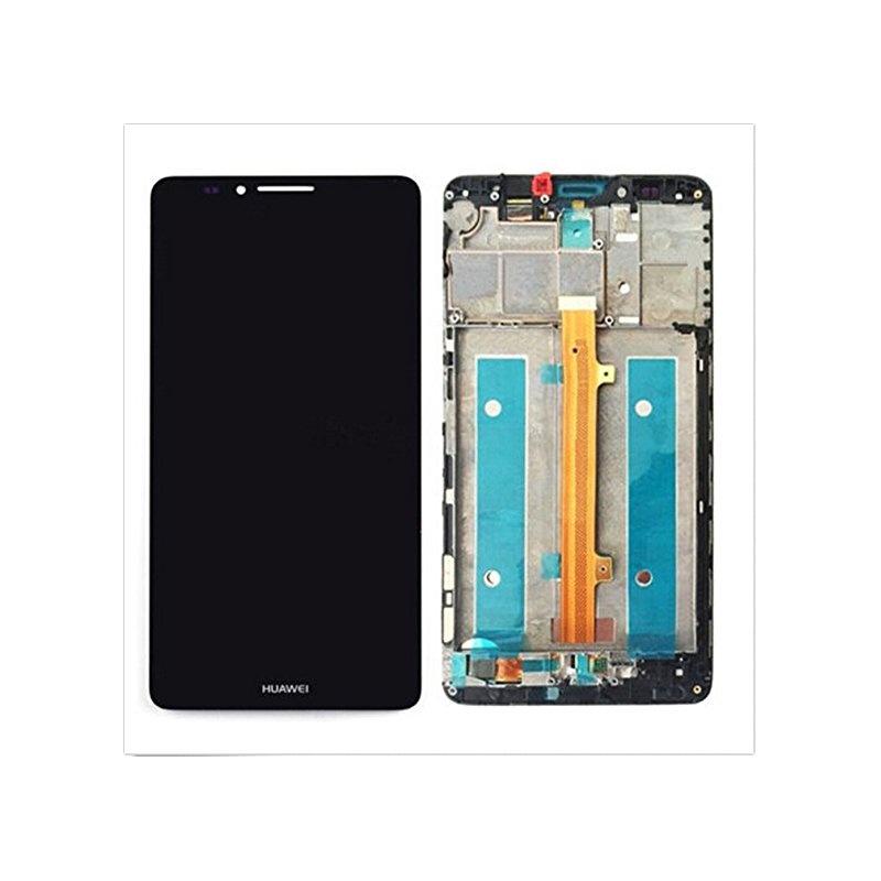 Huawei Mate 7 LCD + dotyk + rám (monoblok), černý