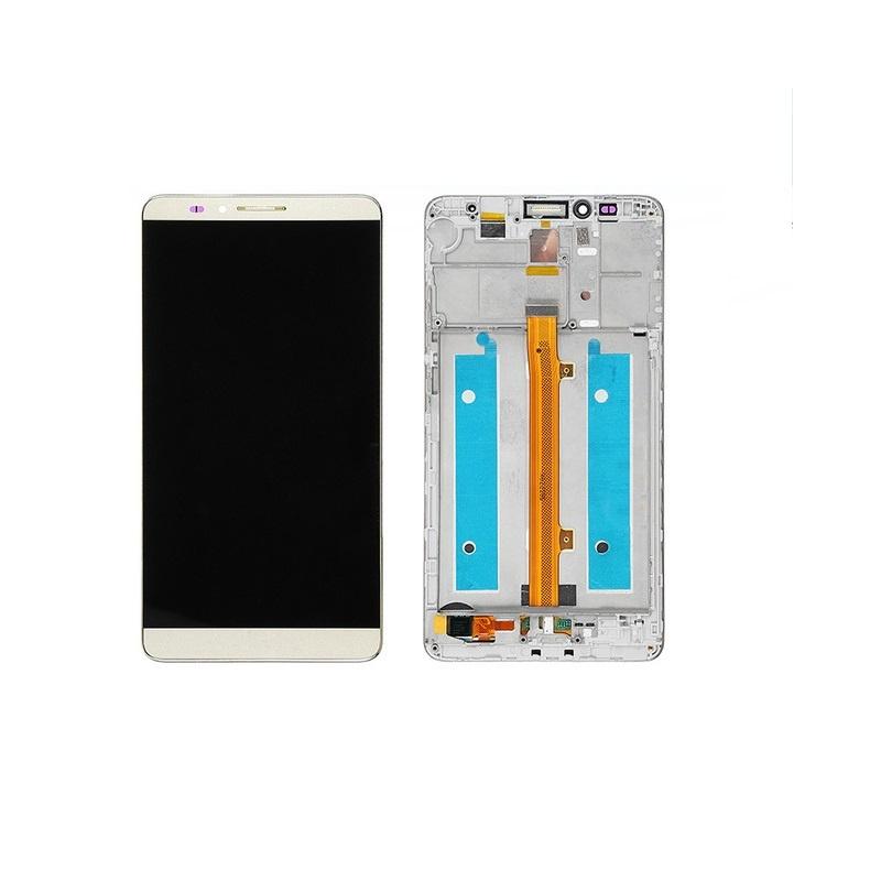 Huawei Mate 7 LCD + dotyk + rám (monoblok), bílý