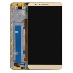 LCD + Touch + Frame (Assembled) pro Huawei Mate 7 Gold (OEM)