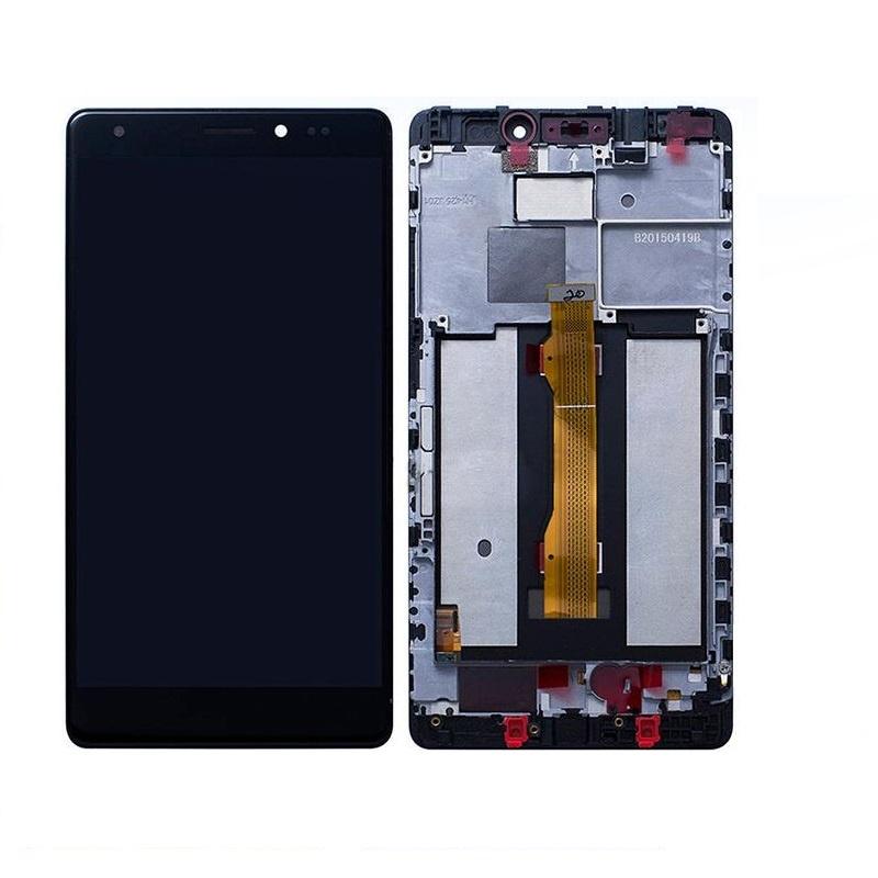 Huawei Mate S LCD + dotyk + rám (monoblok), černý
