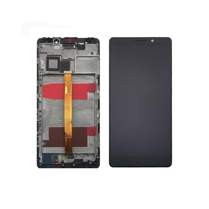 Huawei Mate 8 LCD + dotyk + rám (monoblok), černý