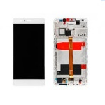 LCD + Touch + Frame (Assembled) pro Huawei Mate 8 White (OEM)