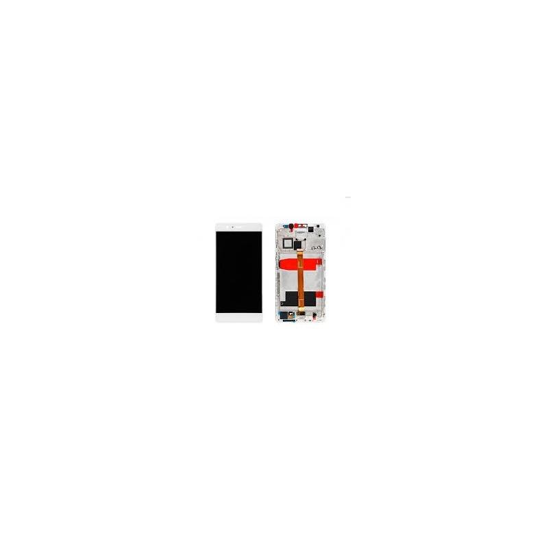 Huawei Mate 8 LCD + dotyk + rám (monoblok), bílý