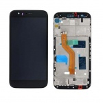 LCD + Touch + Frame (Assembled) pro Huawei G8 - Black (OEM)
