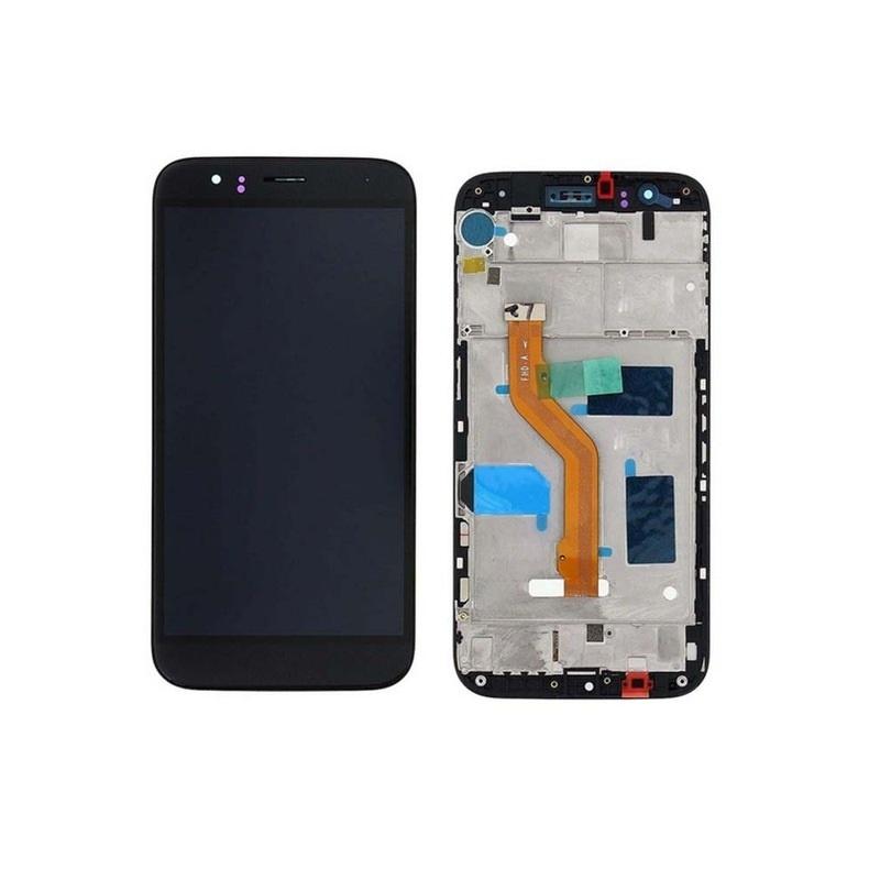 Huawei G8 LCD + dotyk + rám (monoblok), černý