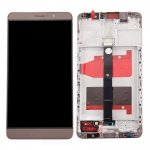LCD + Touch + Frame (Assembled) pro Huawei Mate 8 - Gold (OEM)
