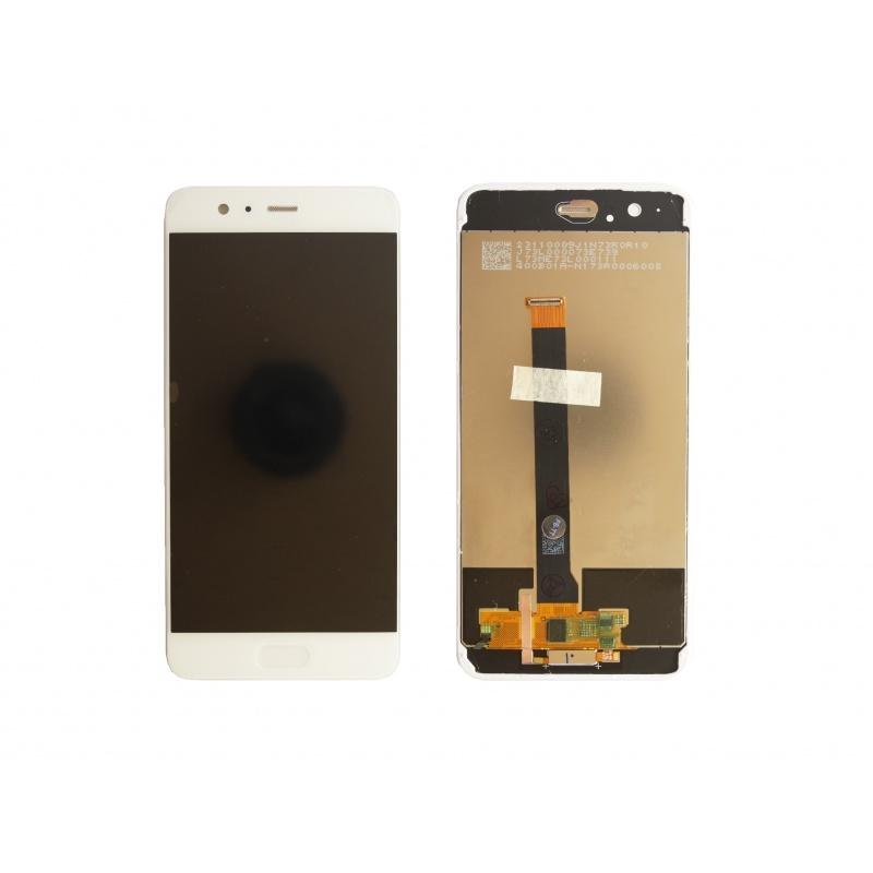 Huawei P10 Plus LCD + dotyk + rám (monoblok), bílý