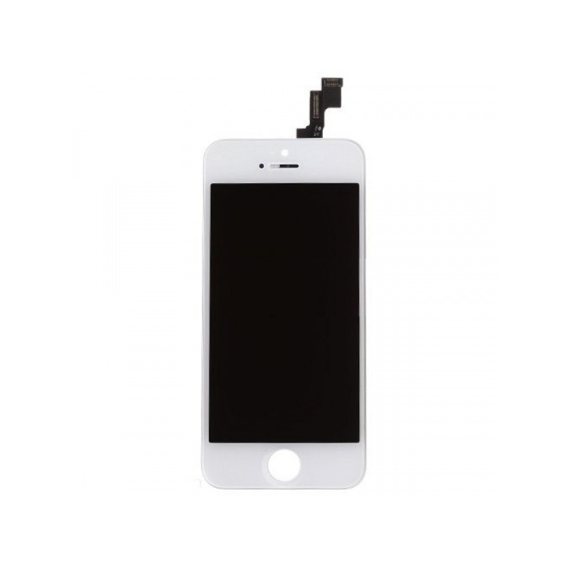 LCD + Touch White pro Apple iPhone 5S/SE (Refurbished)