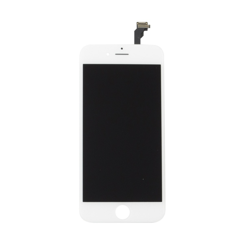 LCD + dotyk, bílá varianta pro Apple iPhone 6 (TianMa OEM)