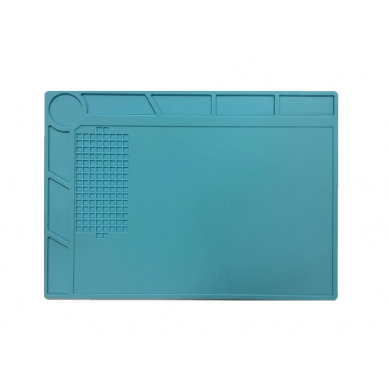Heat Insulation Silicone Pad Desk Mat Maintenance Platform BGA Soldering 34x23cm