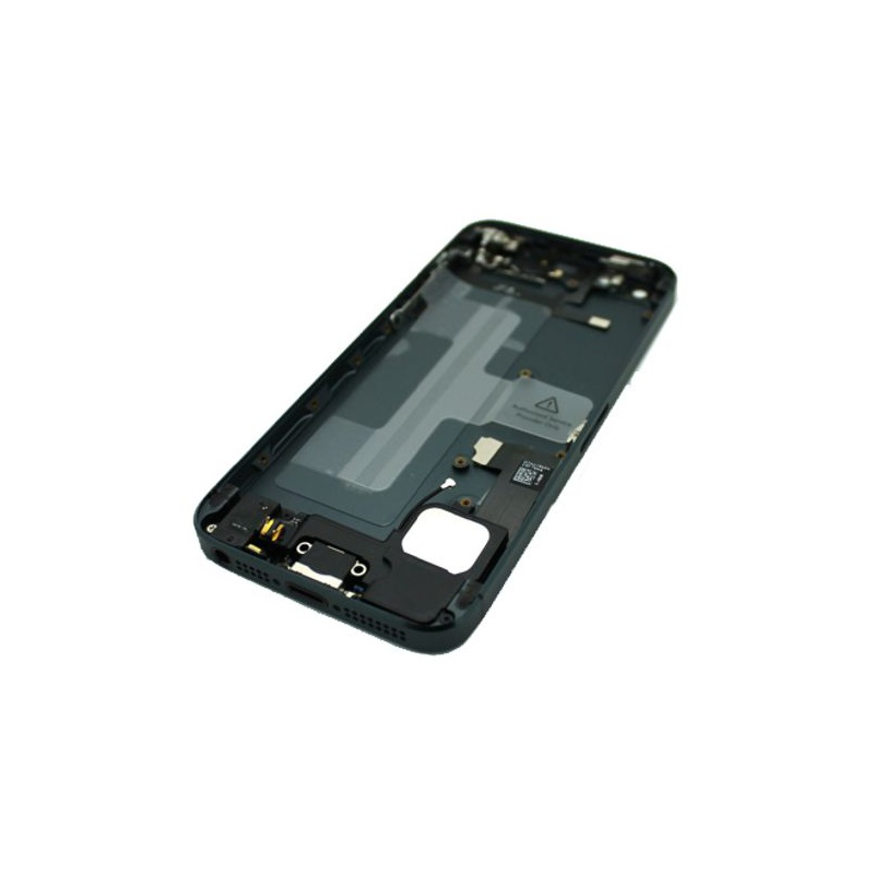 Back Cover Full Assembled Black pro Apple iPhone 5