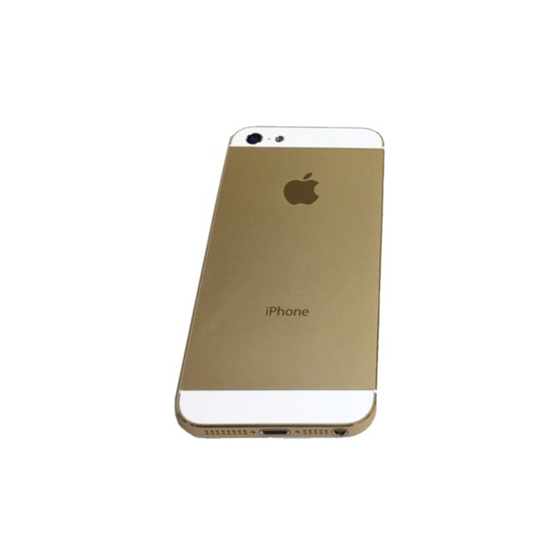 Back Cover Full Assembled Gold pro Apple iPhone 5
