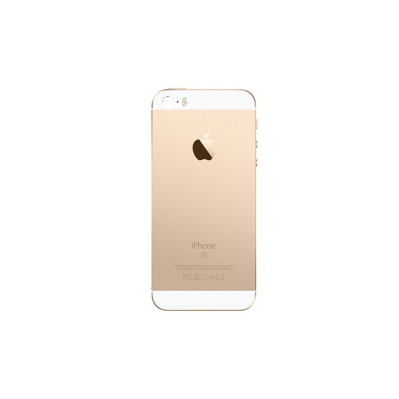 Back Cover Full Assembled Gold pro Apple iPhone SE