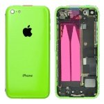 Back Cover Full Assembled Green pro Apple iPhone 5C