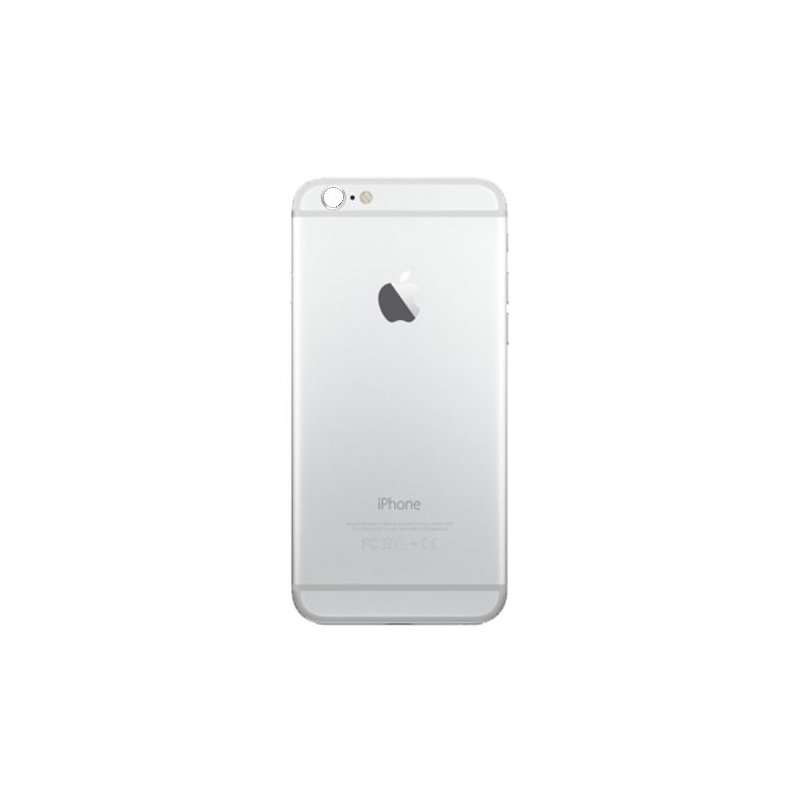 Back Cover Full Assembled Silver pro Apple iPhone 6S