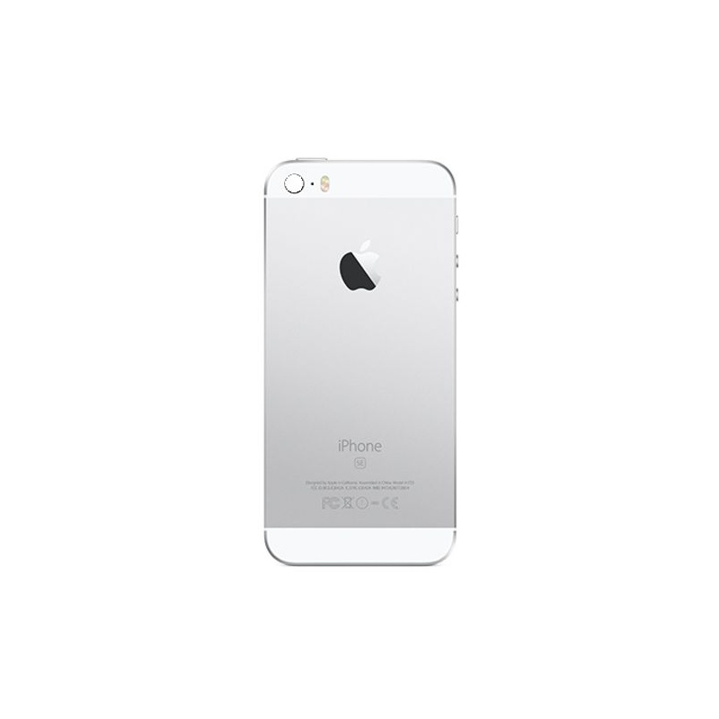Back Cover Full Assembled Silver pro Apple iPhone SE