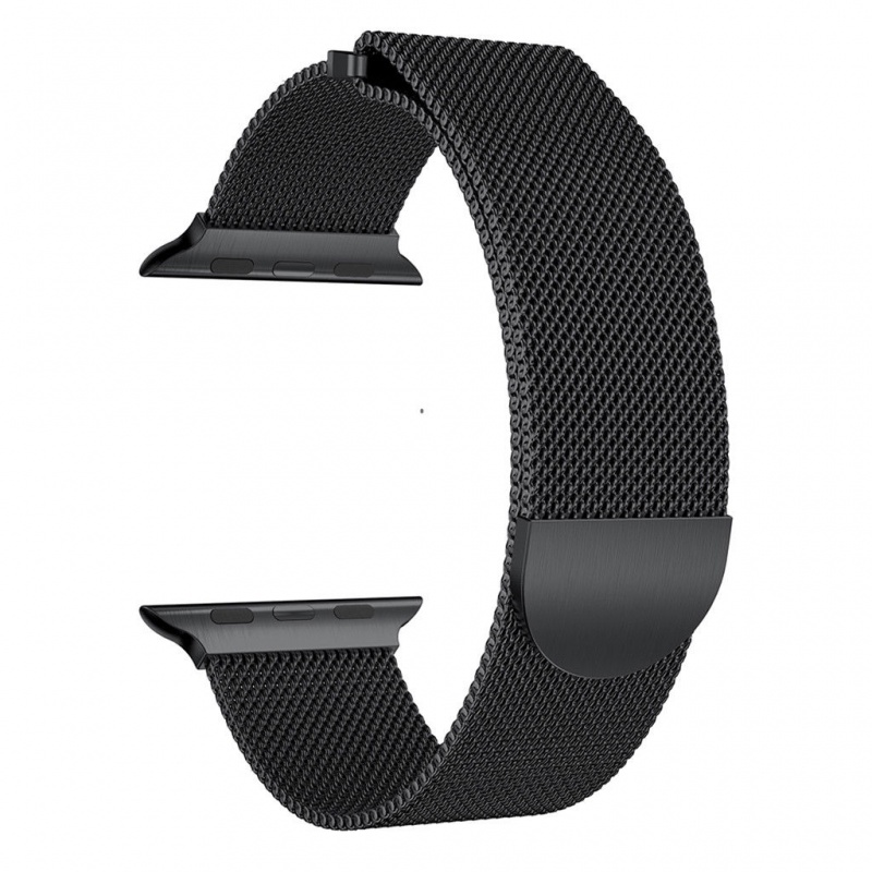 Milanese Band For Apple Watch 38mm Black